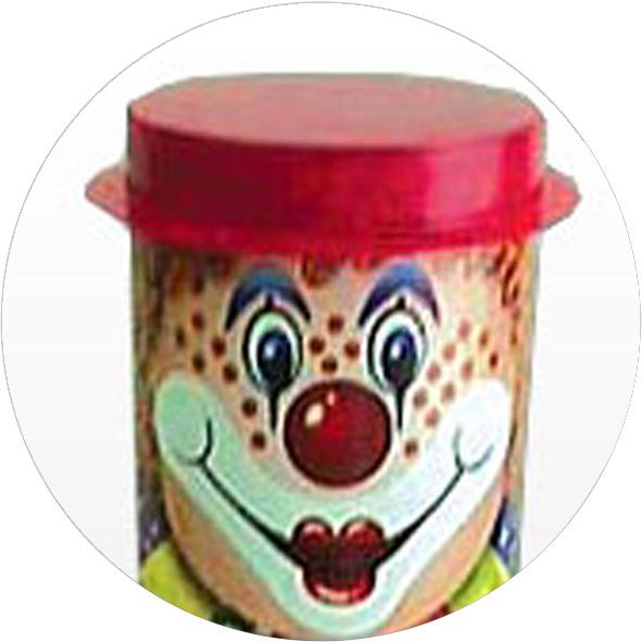 Тубус из навивного картона Комплектующие: шляпа - ПВХ (цвет - красный...
